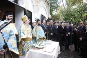 Αγιασμός των Υδάτων στο Κολωνάκι παρουσία του Προέδρου της Δημοκρατίας