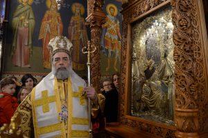 Επέστρεψε στον  μόνιμο θρόνο της η Εικόνα της Παναγίας Υπαπαντής στην Καλαμάτα