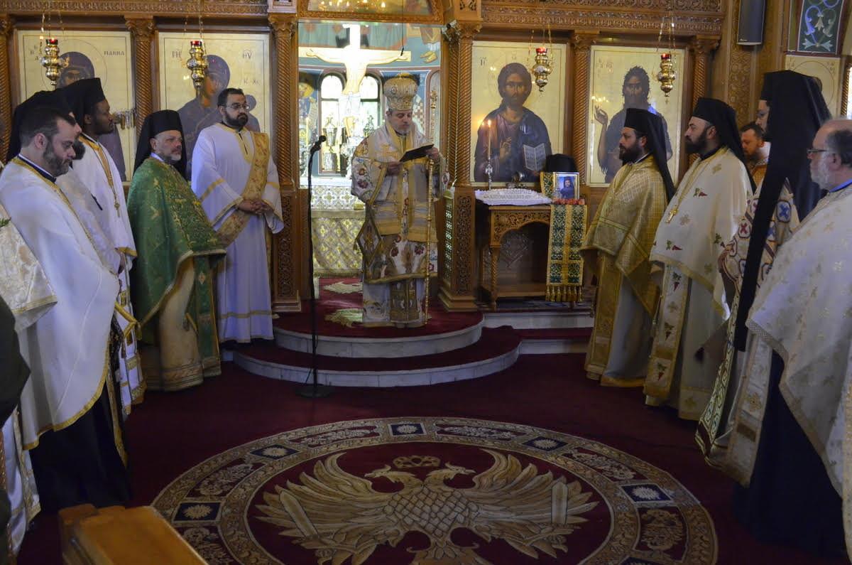 Το 4ετές μνημόσυνο Αρχιμ. Ισιδώρου Σαλάκου, στην Αγία Μαρίνα Ηλιουπόλεως