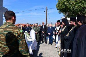 Επιμνημόσυνη δέηση στο Ναύπλιο υπέρ των πεσόντων Αξιωματικών – Οπλιτών και Αστυνομικών