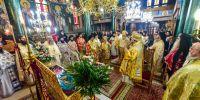 Πανηγυρικό Αρχιερατικό Συλλείτουργο επί τη εορτή της Αγίας Κυράννης της Οσσαίας στην Ι. Μ. Λαγκαδά