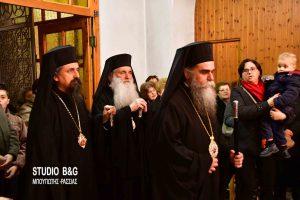 Λαμπρός o εσπερινός του Πολιούχου Αγίου Αναστασίου του Ναυπλιέως