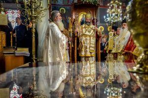 Αρχιερατική Θεία Λειτουργία, την Κυριακή του Τελώνου και Φαρισαίου εις την Ιερά Μητρόπολη Λαγκαδά