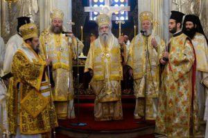 Δεκαετές μνημόσυνο αειμνήστου Μητροπολίτη Μεσσηνίας Χρυσοστόμου Β ´( Θέμελη)