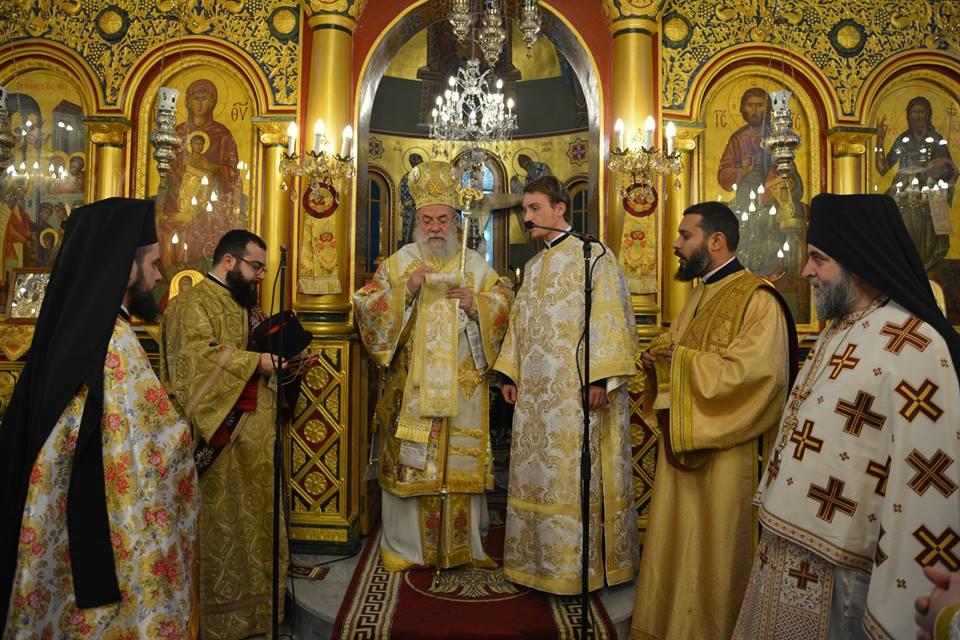 Η Εορτή της Υπαπαντής του Κυρίου – Χειροτονία Διακόνου από τον Σεβ. Μητροπολίτη Ελευθερουπόλεως κ. Χρυσόστομο