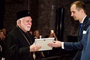 Παρασημοφόρηση του Προκαθημένου της Εσθονικής Εκκλησίας κ. Στεφάνου.