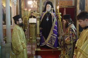 Ο Μητροπολίτης Κορωνείας στον Αγ. Κωνσταντίνο Πειραιώς : Συνοπτική Αγγελολογία