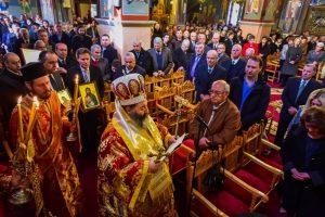 Ο εορτασμός της Κυριακής της Ορθοδοξίας εις την Ιερά Μητρόπολη Λαγκαδά, Λητής  και Ρεντίνης.