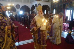 Κυριακή της Σταυροπροσκυνήσεως στον Ι. Ναό Εσταυρωμένου Ταύρου