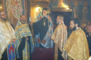 Πανηγυρικός Εσπερινός στον Ι. Ναό Ευαγγελιστρίας Καλλιθέας