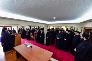 Ζ΄ Ιερατική Σύναξη του μηνός Μαρτίου στην Ι. Μ. Λαγκαδά