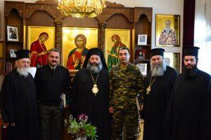 Επίσκεψη του νέου Διοικητού της 1ης Ταξιαρχίας Πεζοναυτών-Αλεξιπτωτιστών Ρεντίνης