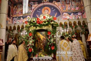 Χιλιάδες πιστοί στην εορτή του Ευαγγελισμού της Θεοτόκου στο Ναύπλιο