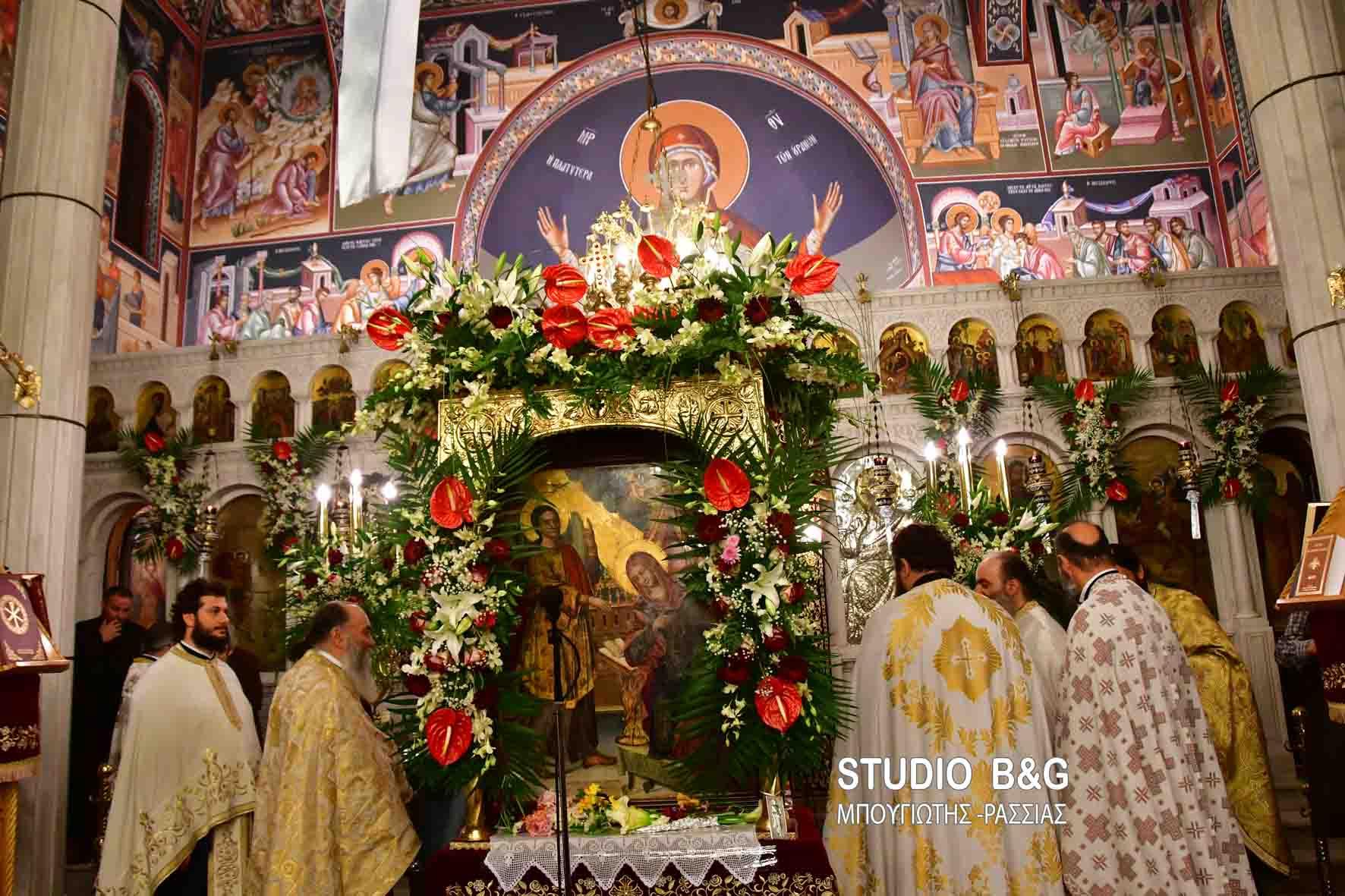 You are currently viewing Χιλιάδες πιστοί στην εορτή του Ευαγγελισμού της Θεοτόκου στο Ναύπλιο