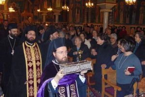 Στην Ανάληψη ιερό Λείψανο του Αγίου Σπυρίδωνος