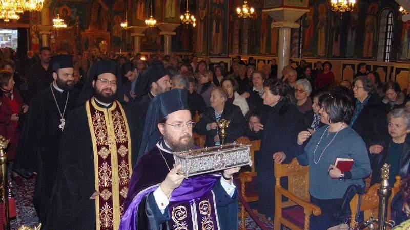 You are currently viewing Στην Ανάληψη ιερό Λείψανο του Αγίου Σπυρίδωνος
