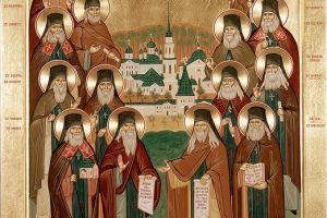 Ιερά Λείψανα των Αγίων Πατέρων της Όπτινα στην Ευαγγελίστρια Πειραιώς την Πέμπτη 9 Μαρτίου