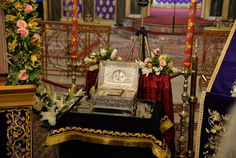 Κατανυκτική υποδοχή Ιερών Λειψάνων των Αγίων Πατέρων της Όπτινα στην Ευαγγελίστρια Πειραιώς