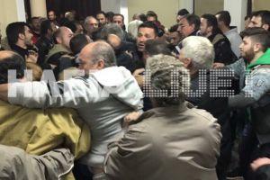 Πελόπιο: Τεράστιες αντιδράσεις – Ήρθαν στα χέρια στην ενημέρωση για τους πρόσφυγες