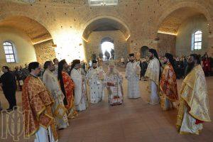 Η εορτή του αγίου Γεωργίου του Τροπαιοφόρου στην Ιερά Μητρόπολη Θεσσαλονίκης.
