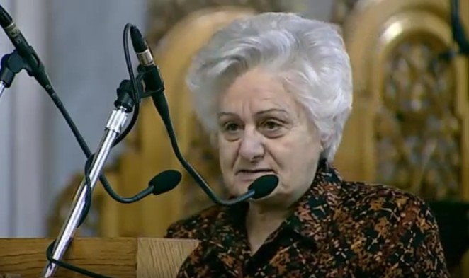 Ομιλία Κυρίας Αθηνάς Σιδέρη, πνευματικού τέκνου του Αγίου Πορφυρίου, με θέμα: «Το μεγαλείο της μετάνοιας στη ζωή του ανθρώπου».