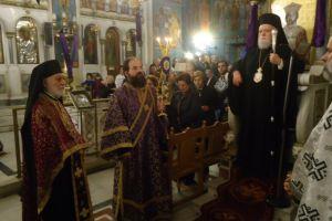 Μ. Τρίτη με τον Μητροπολίτη Κορωνείας στον Αγ. Κωνσταντίνο Κολωνού