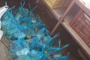 Τρόφιμα σε άπορες οικογένειες του Άργους από τον Ιερό Ναό Αγίου Νικολάου