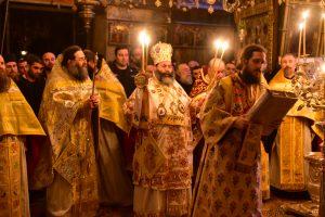 Η Τρίτη της Διακαινησίμου εις την Ιερά Πατριαρχική και Σταυροπηγιακή Μονή των Ιβήρων Αγίου Όρους