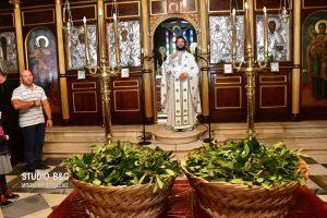 Η Κυριακή των Βαΐων στον Ιερό Ναό της Αγίας Τριάδος Ναυπλίου