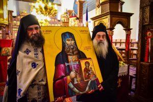 Η Εορτή του Αγίου Γεωργίου και η Καθιέρωση της νέας Εικόνας του Οσίου Γαβριήλ του Ιβηρίτου