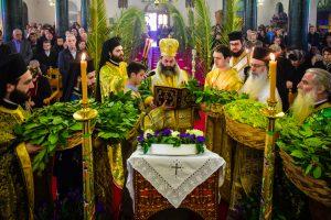 Η Κυριακή των Βαΐων εις την Ιερά Μητρόπολη Λαγκαδά, Λητής και Ρεντίνης