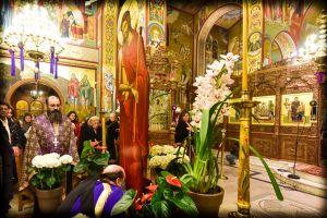 Η Ακολουθία του Νυμφίου, εις τον Ιερό Ναό  Κοιμήσεως της Θεοτόκου Λαγκαδά.