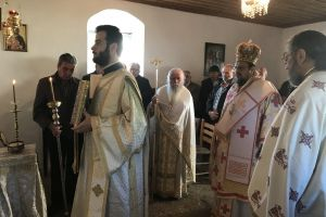 Ο Μητροπολίτης Μεσσηνίας στην Ιερά Μονή Βουλκάνου