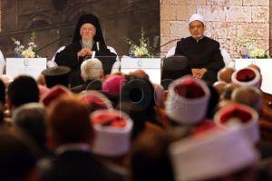 Οικ.Πατριάρχης Βαρθολομαίος: «Το Ισλάμ δεν μπορεί να εξισωθεί με την τρομοκρατία»