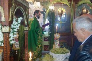 Η Κυριακή των Βαΐων στον Ιερό Ναό Αγίου Γεωργίου στις Καμάρες της Σίφνου