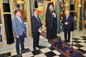 Ενίσχυση της ΠΑΕ Ολυμπιακός στο φιλανθρωπικό έργο της Ιεράς Μητροπόλεως Πειραιώς