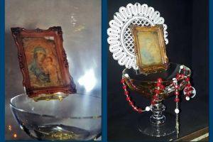 Μέγα Σημείο η ορθόδοξη εικόνα της Παναγίας του Soufanieh της Δαμασκού μετά από 16 χρόνια άρχισε και πάλι να τρέχει λάδι…