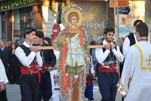 Κατάνυξη και πλήθος κόσμου στον Άγιο Γεώργιο Ζωφριάς