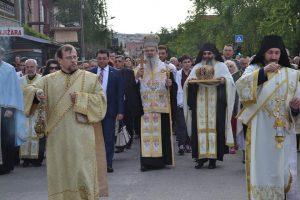Λιτανεία του Οσίου Βασιλείου Οστρόγου στη Ναϊσσό Σερβίας.