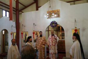 Ο Μητροπολίτης Μεσσηνίας στον Ιερό Ναό Αγ. Αικατερίνης Καλαμάτας