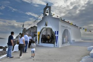 Εγκαινιάστηκε μετά από 300 χρόνια το πιο γραφικό ξωκλήσι της Χίου