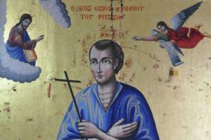 Ο Άγιος Ιωάννης ο Ρώσος ζητά από μόνος του αλλαγή αμφίων!