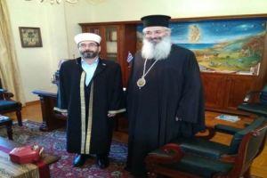 Μητροπολίτης Αλεξανδρουπόλεως: «Ειρηνική συνύπαρξη με τους μουσουλμάνους της Θράκης»