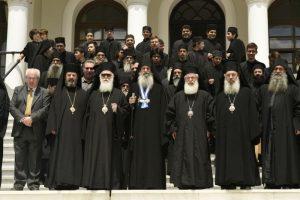 Ο Αρχιεπίσκοπος Αλβανίας στο Αγιον Ορος