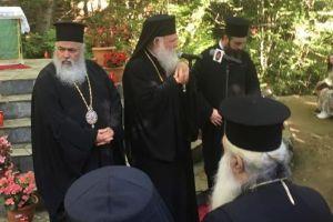 Παρουσία του Αρχιεπίσκοπου και Ιεραρχών το Συνέδριο Στελεχών Κατασκηνώσεων