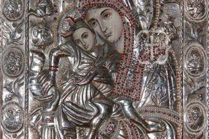 Έρχεται για πρώτη φορά η θαυματουργός εικόνα της Θεοτόκου «ΑΞΙΟΝ ΕΣΤΙ» στο Βύρωνα
