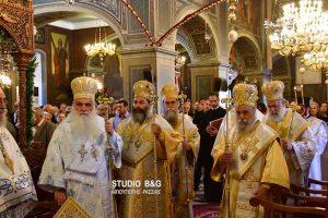Πολυαρχιερατική Θεία Λειτουργία για τον Πολιούχο του Άργους, Άγιο Πέτρο