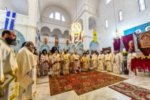 Αρχιερατικό Συλλείτουργο και την Θεολογική Ημερίδα προς τιμήν των Αγίων Κυρίλλου και Μεθοδίου