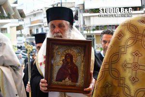 Η Τίμια Εσθήτα της Παναγίας στην πόλη του Ναυπλίου