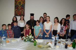 Δείπνο προς τιμήν των Ιερατικών Οικογενειών παρέθεσε ο Μητροπολίτης Μεγάρων